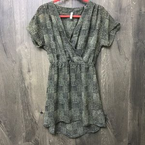 RVCA Open Back Striped Dress
